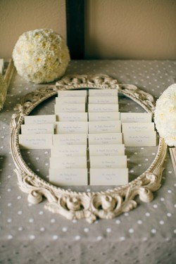 Picture-Frame-Escort-Card-Display
