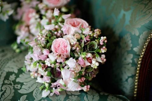 Pink-Garden-Flower-Arrangements