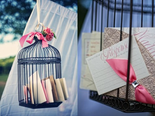 Pink-Ivory-and-Bronze-Invitation-Suite-with-Pocket-Folder