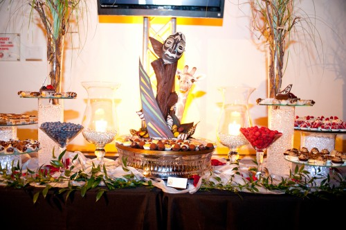 European Pastry Table