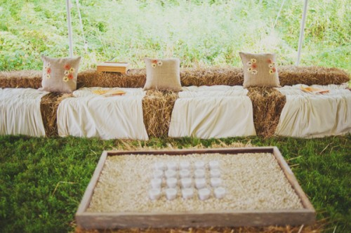 Rustic-Farm-Wedding-Seating-Hay-Bales