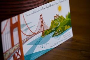 San Francisco Wedding Invitation