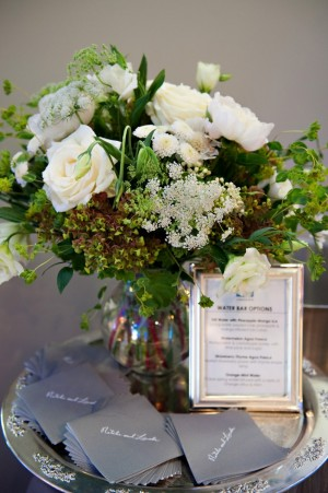 Silver-and-White-Centerpiece