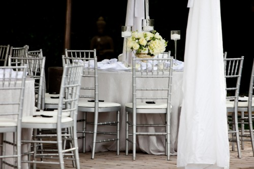 Silver-and-White-Wedding-Reception