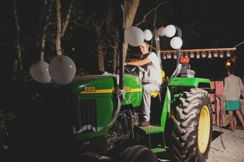 Tractor-Getaway-Car
