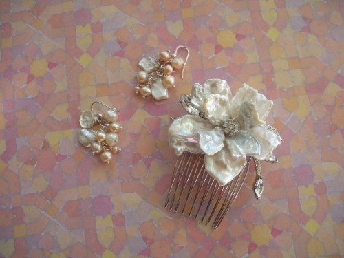 Wedding-Earrings-and-Hairpiece