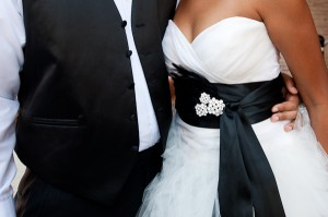 Wedding-Gown-Black-Sash