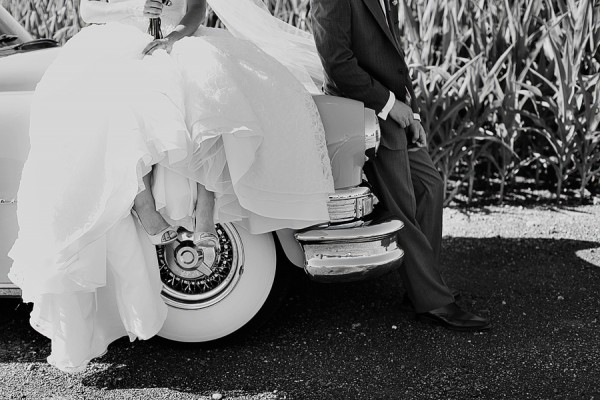 Vintage Cars Wedding 1