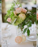Pink Peach Wedding Flowers 1