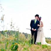 Colorful Backyard Diy Wedding In Virginia