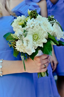 White-Dahlia-Bridesmaid-Bouquet