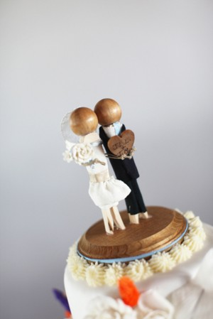 Wooden-Figure-Cake-Topper