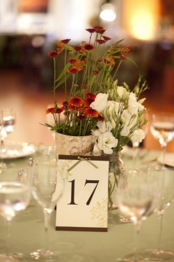 Birch-Vase-Wildflower-Centerpiece
