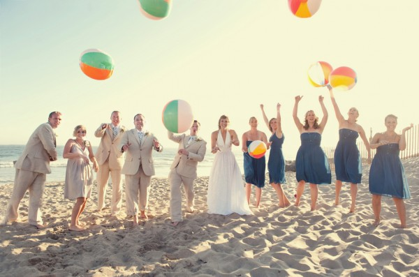 Blue-Chiffon-J-Crew-Bridesmaids-Dresses