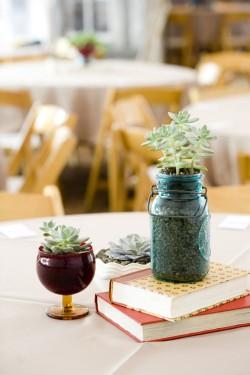 Blue-Mason-Jar-Vase