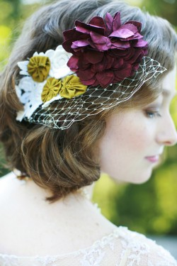 Burgundy-and-Green-Fascinator