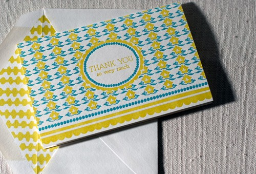 smock thank you cards