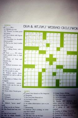 Custom-Wedding-Crossword-Puzzle
