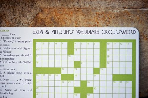 DIY-Wedding-Crossword