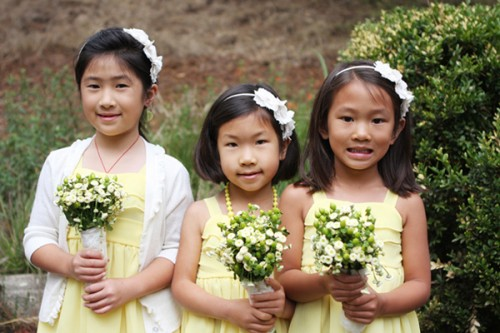 Flower-Girls-Yellow-Dresses