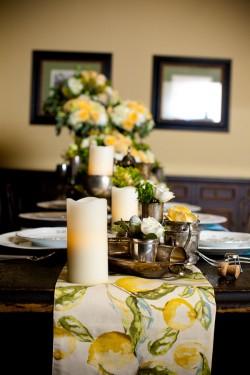 French-Country-Lemon-Table-Runner