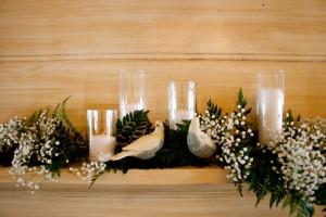 Garden-Wedding-Mantle-Decor