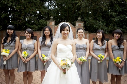 Gray-and-Yellow-Bridesmaids