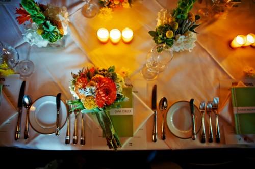 Green-Orange-and-Yellow-Wedding