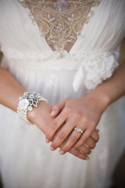 silver bride bracelets