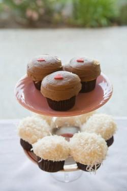 sprinkles wedding cupcakes