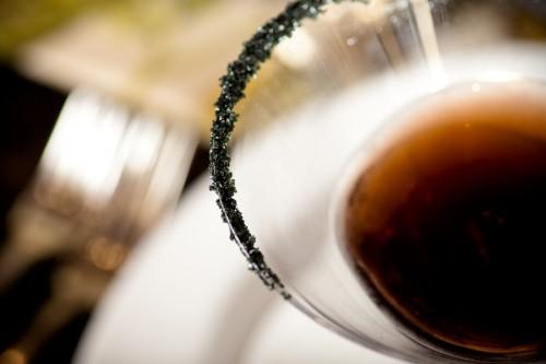 Kir-Noir-Martini