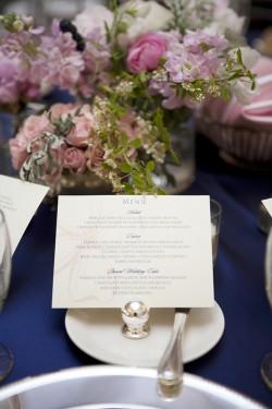 Navy-Blue-and-Pink-Wedding-Menu