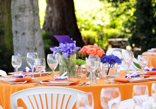 Orange-and-Purple-Wedding