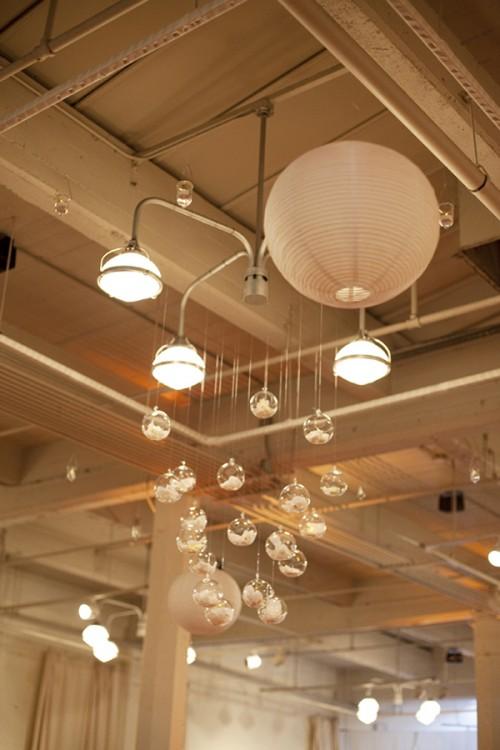 Paper lantern chandelier elizabeth anne designs the wedding blog - Paper lantern chandelier ...