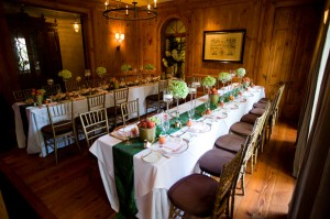 Peach-and-Green-Reception