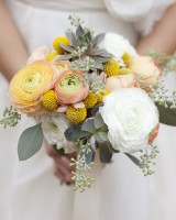 Peach-and-Yellow-Succulent-and-Ranunculus-Bouquet