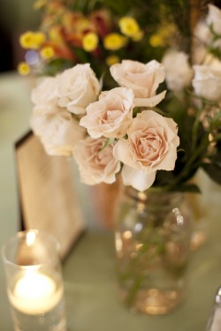 Pink-Spray-Rose-Centerpiece