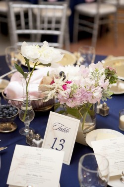 Pink-and-Blue-Cluster-Centerpiece