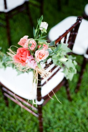 Pink-and-Peach-Rose-Chair-Decor