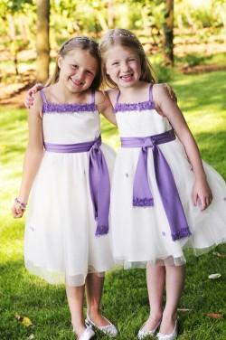 Purple-Flower-Girl-Dress