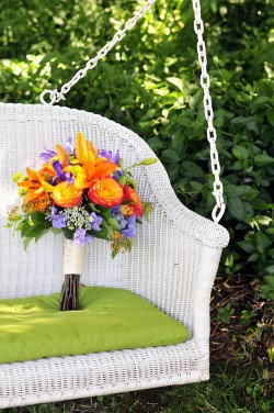 Purple-and-Orange-Bouquet