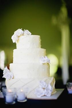 Simple-White-Wedding-Cake