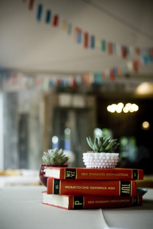 Stacked-Book-Centerpiece