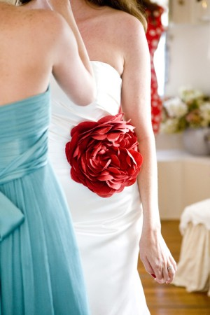 Turquoise-and-Red-Gowns