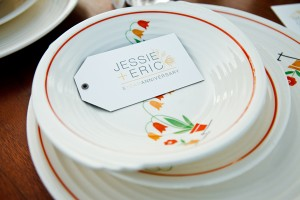 Vintage-Red-and-White-Tableware