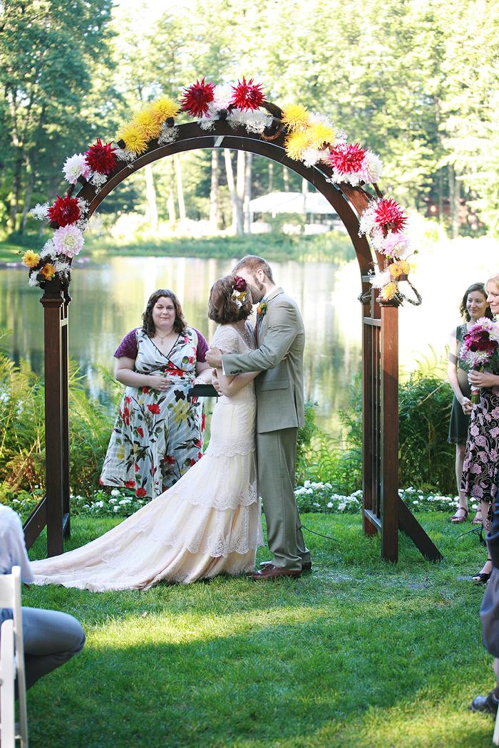 Wooden Wedding Arch Elizabeth Anne Designs The Wedding Blog