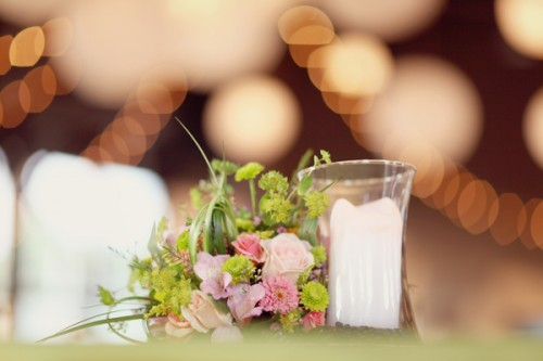 Green-and-Peach-Reception