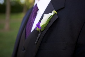 Lilly-Boutonniere