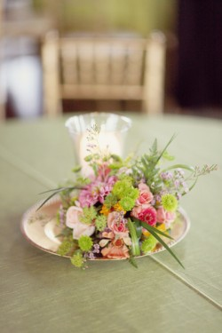 Pink-and-Green-Wedding-Reception