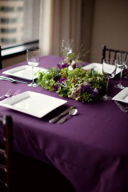 Purple-Tablescape